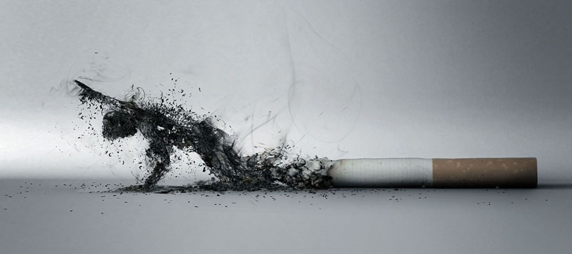 smoking damages oral health